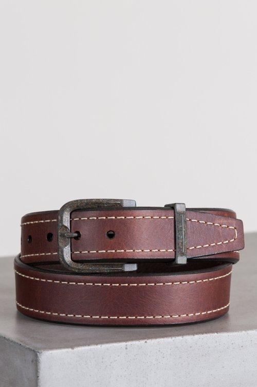 Granada Bison Leather Belt