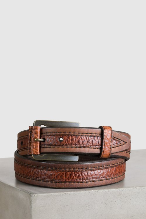 Chippewa American Bison Leather Belt