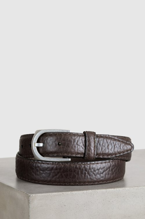 Pinnacle American Bison Leather Belt