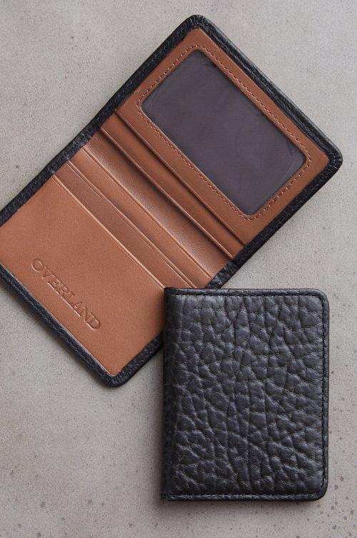 Tucson Bison Leather Card Case Wallet