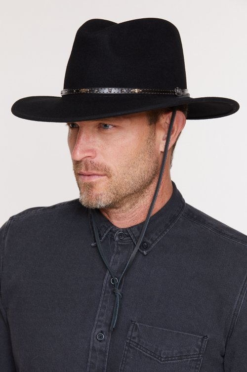 Rover Crushable Wool Felt Safari Hat