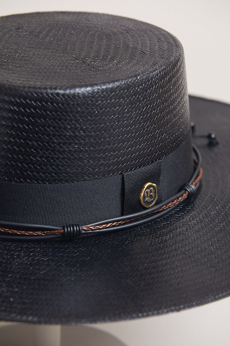 Bohemian Toyo Straw Gaucho Hat