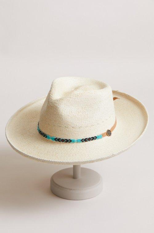 Native Palm Fiber Western Hat