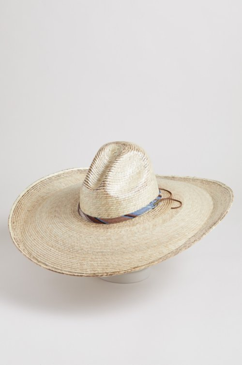 Turner Palm Straw Sombrero Hat