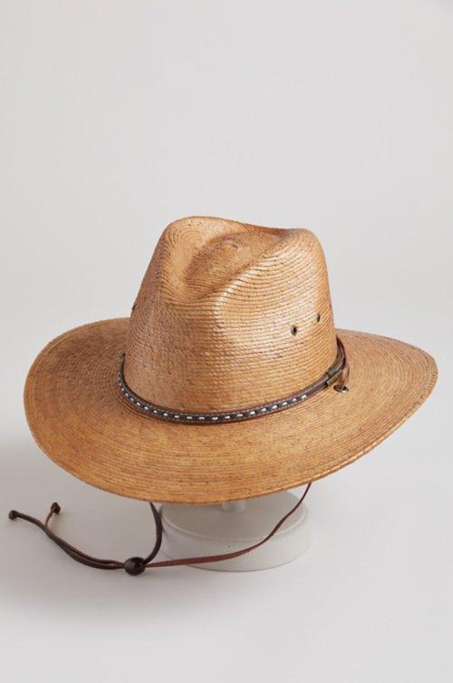 Nelson Shantung Straw Safari Hat