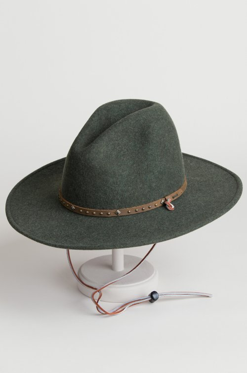 Stetson Lonesome Trail Crushable Wool Cowboy Hat