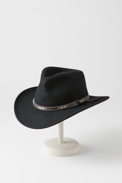 Teton Crushable Wool Cowboy Hat