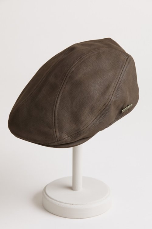 Stetson Oily Timber Leather Ivy Cap