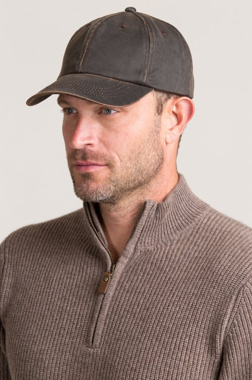 Trevor Weathered Cotton-Blend Baseball Cap