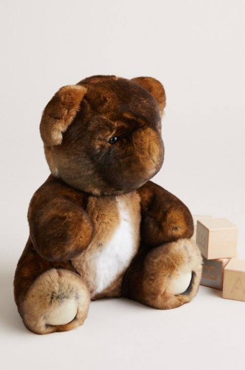 Rex Rabbit Fur Teddy Bear