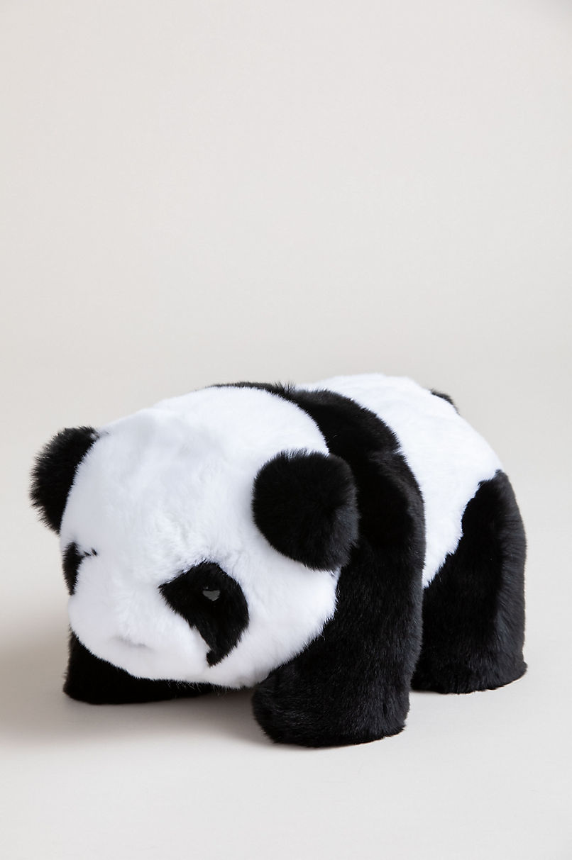 Small Rex Rabbit Fur Panda