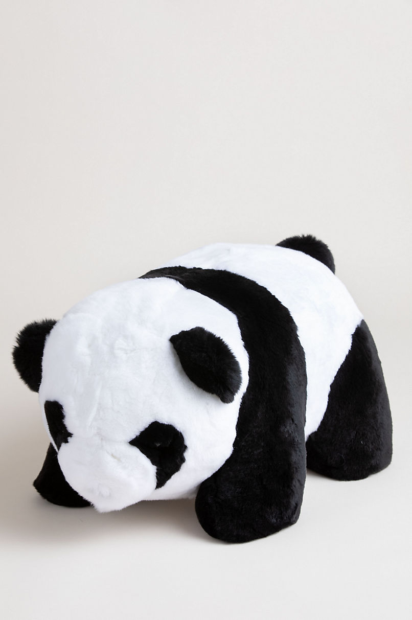 Large Rex Rabbit Fur Panda