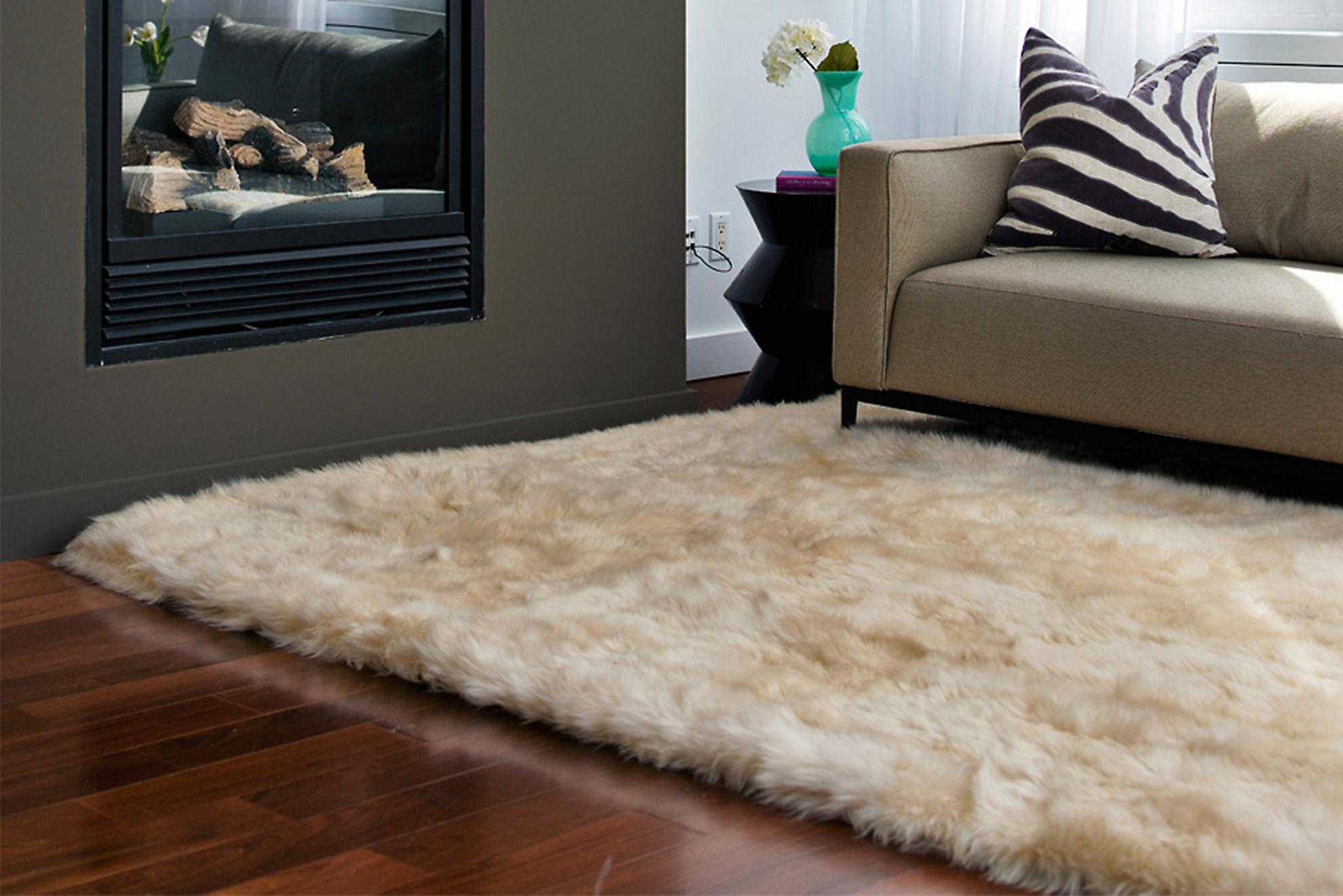5.5' x 8' Premium Australian Sheepskin Rug