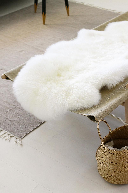 2-Pelt (2' x 6') Premium Australian Sheepskin Runner Rug