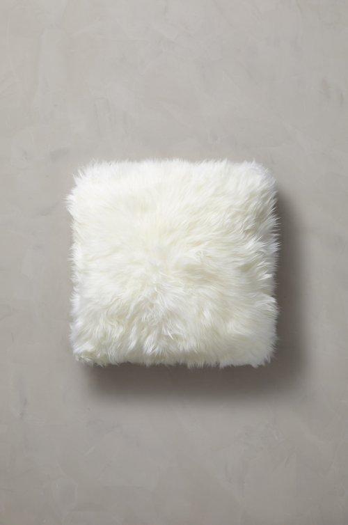 "18"" x 18"" Double-Sided Australian Sheepskin Pillow"