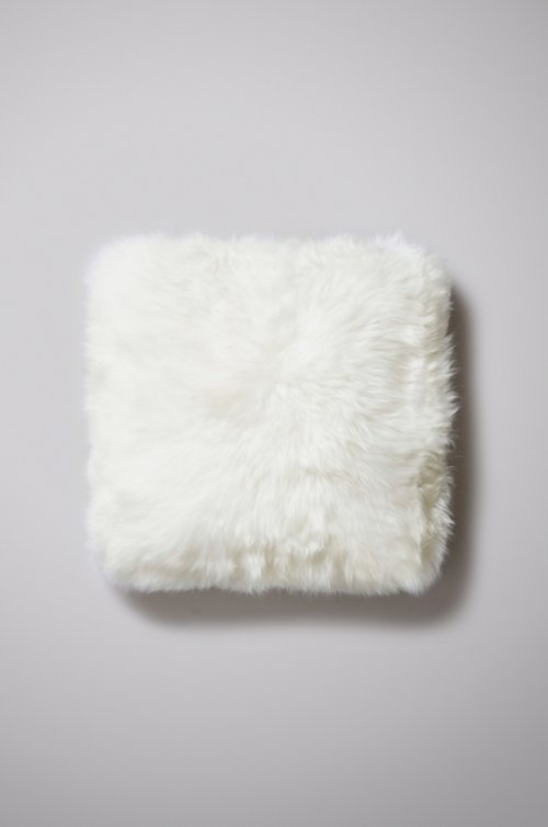 "18"" x 18"" Double-Sided Australian Sheepskin Pillow"
