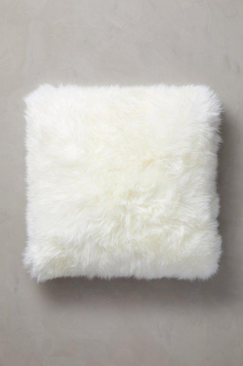 "24"" x 24"" Single-Sided Australian Sheepskin Pillow"