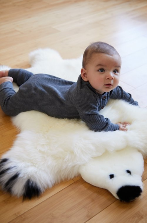 Australian Sheepskin Teddy Bear Rug