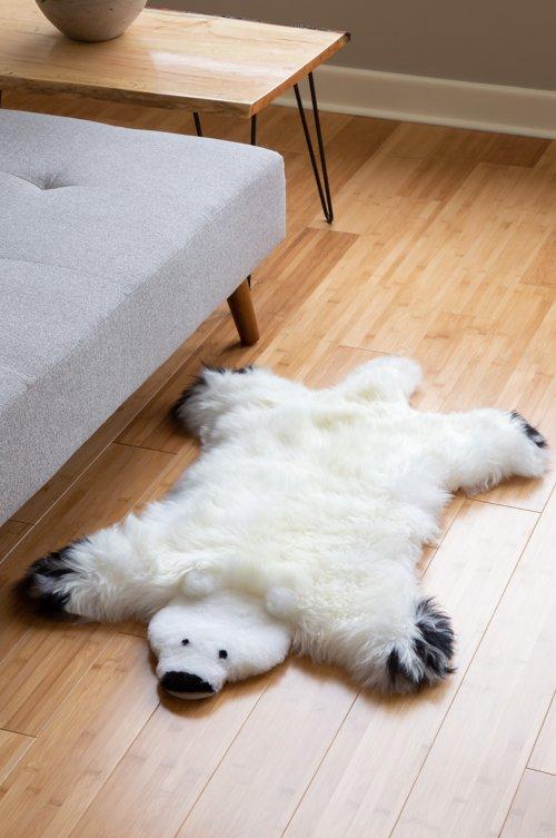 Australian Sheepskin Teddy Bear Rug