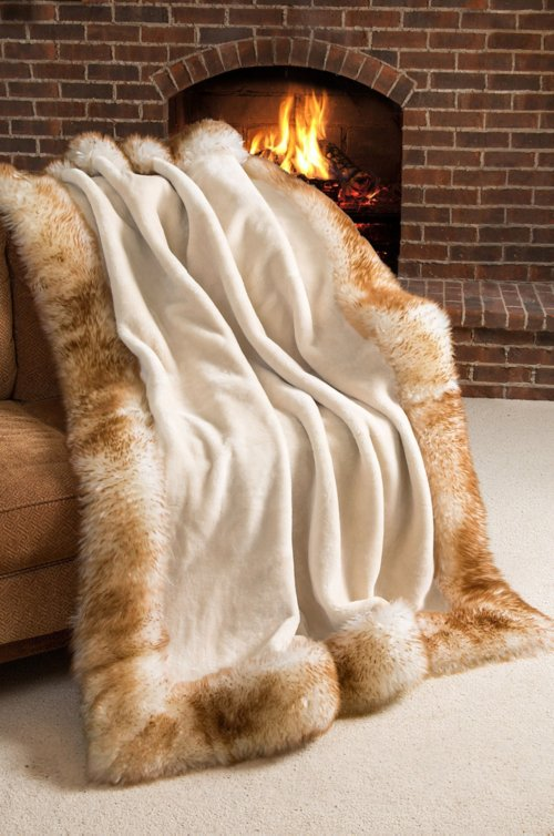 Nordic Palace Premium Australian Sheepskin Throw Blanket