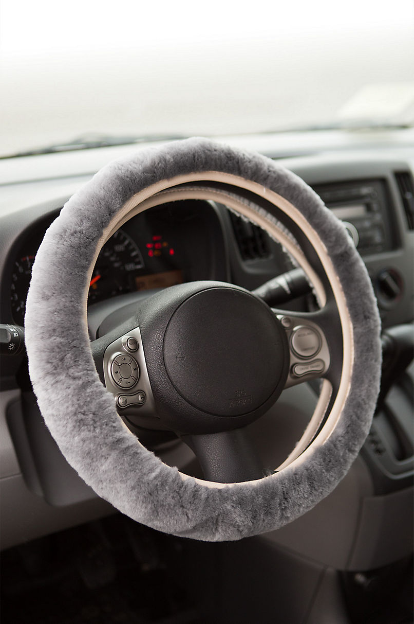 Universal Australian Merino Sheepskin Steering Wheel Cover