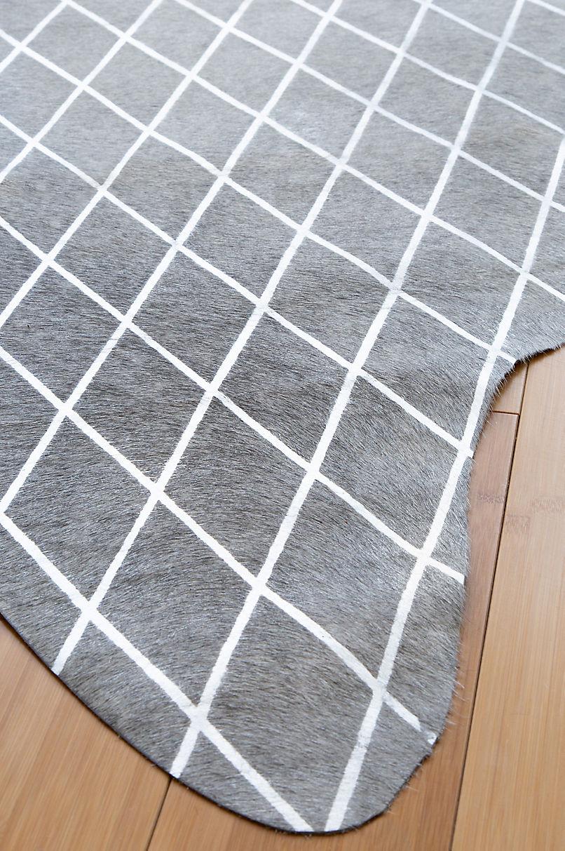 Arlequin Metallic Cowhide Rug