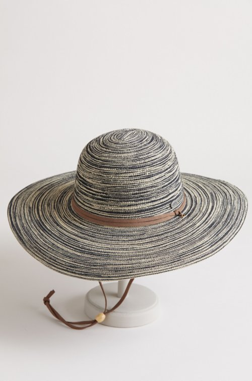 Tulum Toyo Straw Wide Brim Floppy Hat