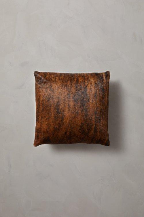 "16"" x 16"" Argentine Cowhide Pillow"