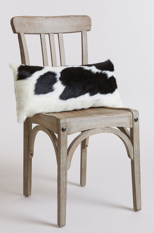 "23.5"" x 11.5"" Argentine Cowhide Pillow"