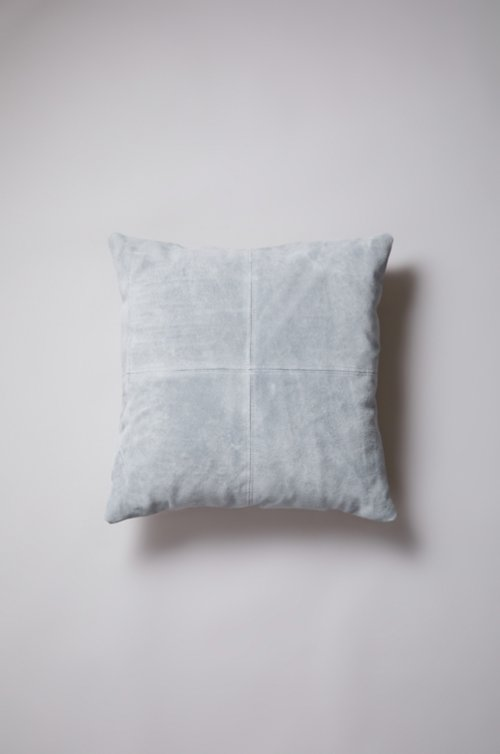 """20"""" x 20"""" Patchwork Suede Pillow"""