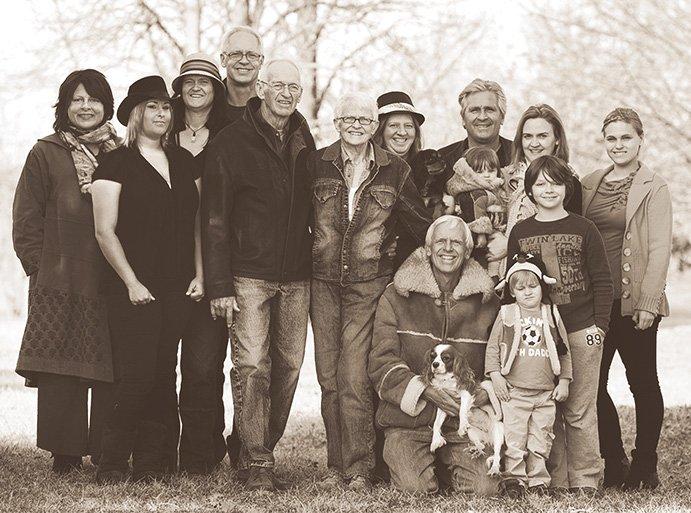 Group Family Portrait