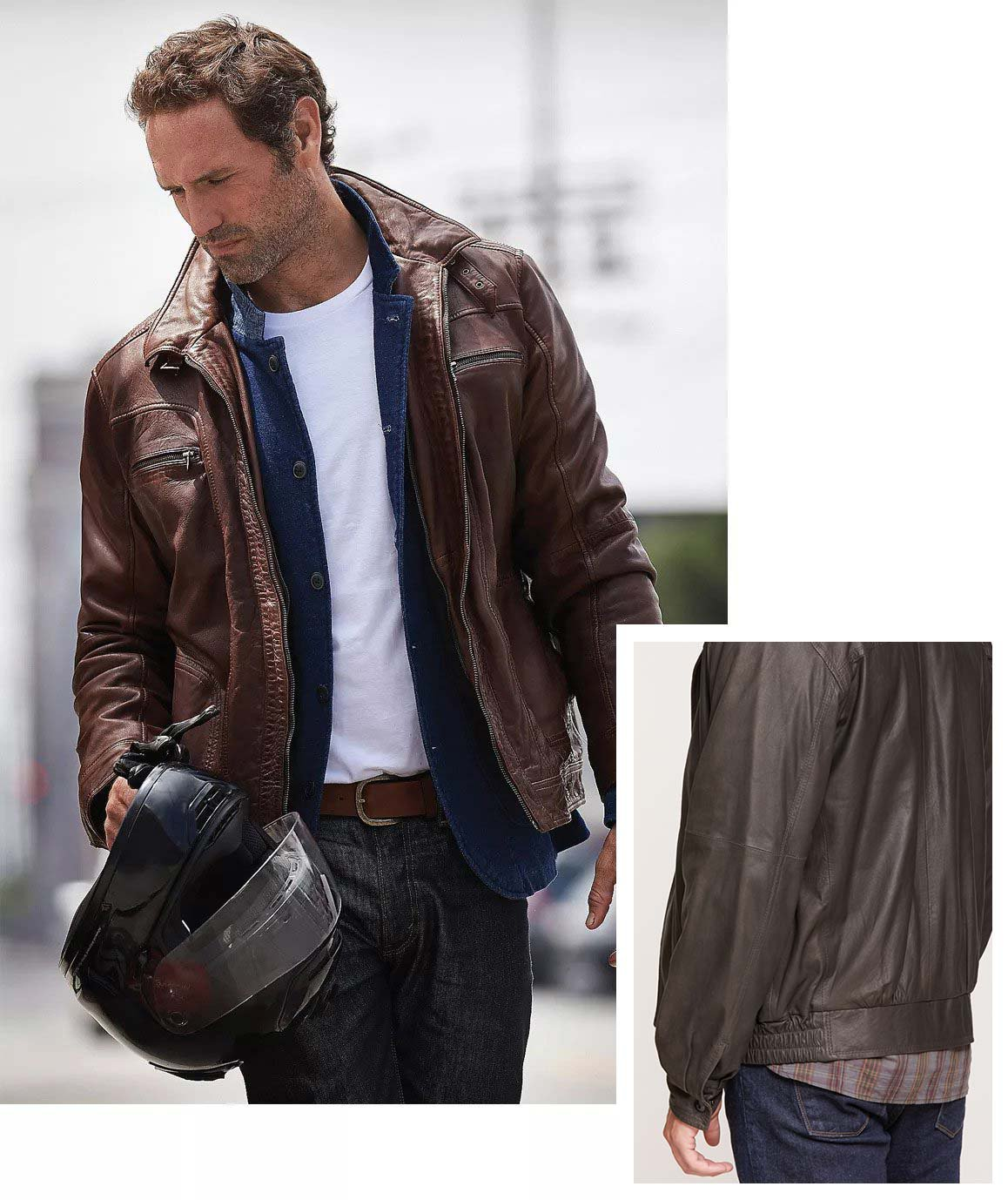 What Men S Leather Jacket To 6 Clic Styles Overland