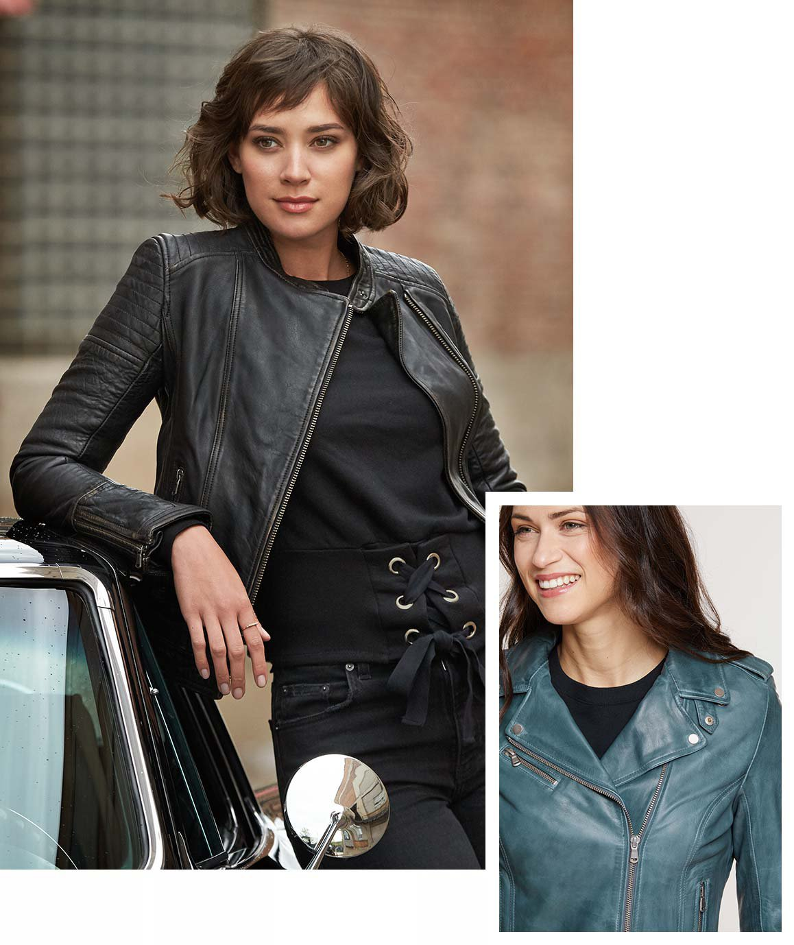 What Women S Leather Jacket To Buy 6 Classic Styles Overland We loved the vintage nineties feel of this hip skimming jacket that did away with the usual shiny zips and large lapels seen on traditional biker styles. what women s leather jacket to buy 6
