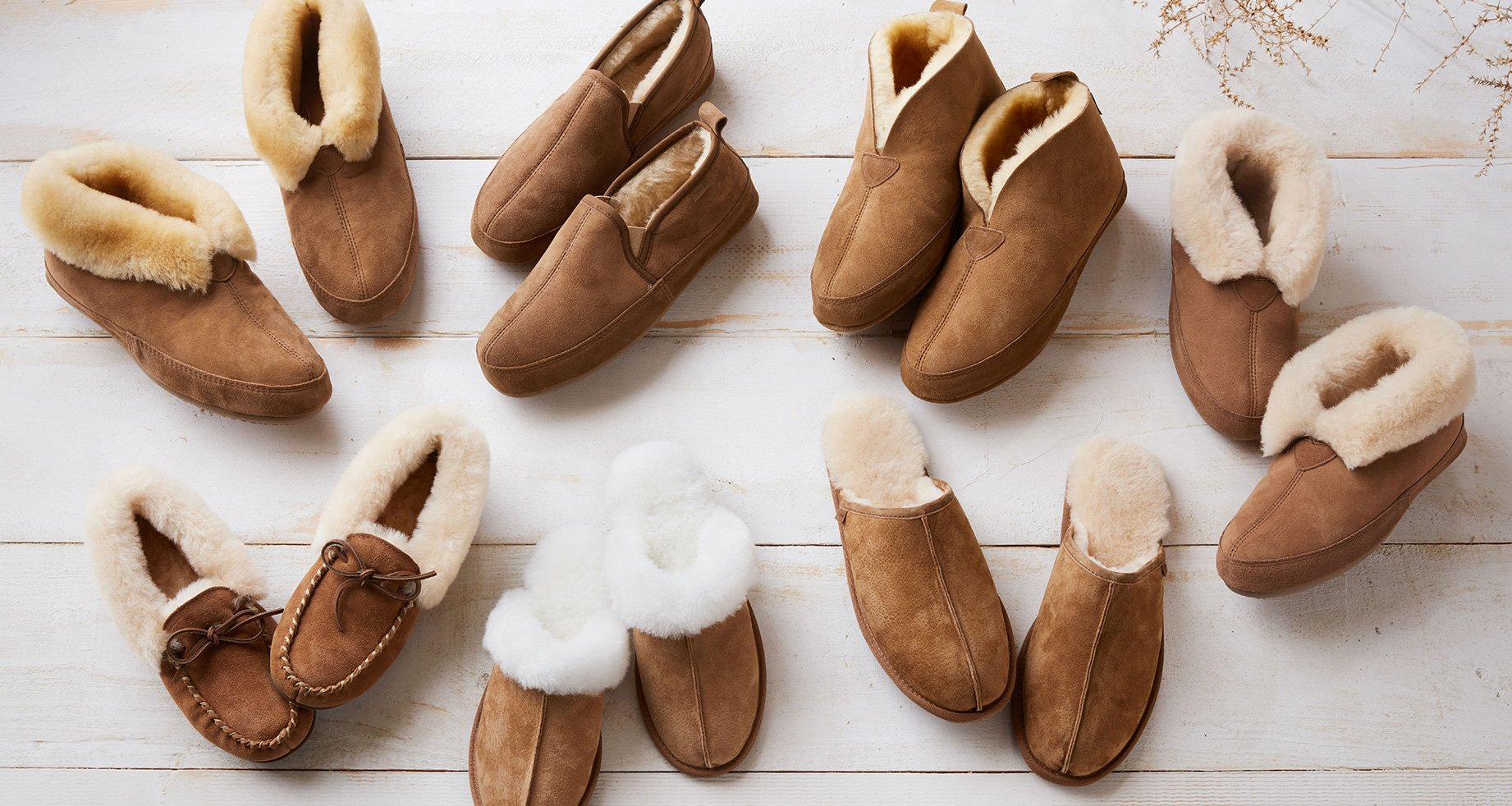 Assorted Sheepskin Slippers